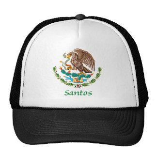 Sello nacional mexicano de Santos Gorra