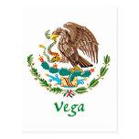 Sello nacional mexicano de Vega Postal