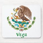 Sello nacional mexicano de Vega Tapete De Ratón
