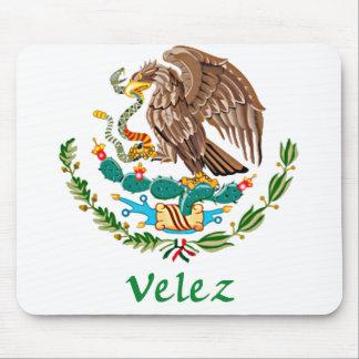 Sello nacional mexicano de Velez Alfombrillas De Raton