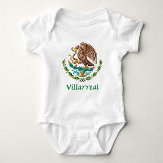 Sello nacional mexicano de Villarreal Body Para Bebé