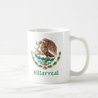 Sello nacional mexicano de Villarreal Taza De Café
