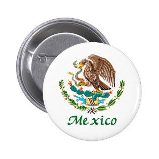 Sello nacional mexicano pin
