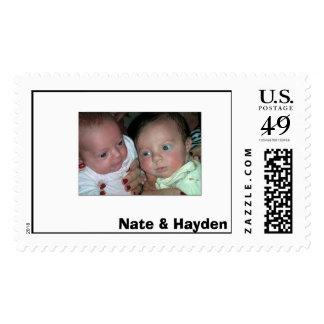 Sello,                  Nate y Hayden Sellos