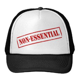 Sello no esencial gorra