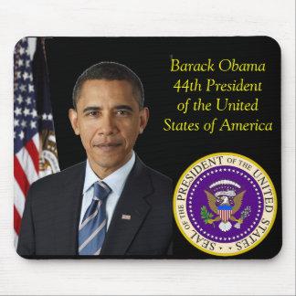 Sello oficial de la foto 44.a de Barack Obama del  Tapete De Raton