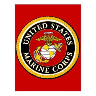 Sello oficial marino de los E.E.U.U. Postales