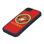 Sello oficial marino de los E.E.U.U. - veterano Funda Para iPhone SE/5/5s
