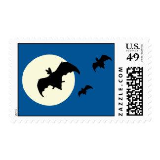 Sello personalizado de Halloween de la Luna Llena