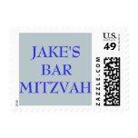 Sello personalizado personalizado de Mitzvah de la