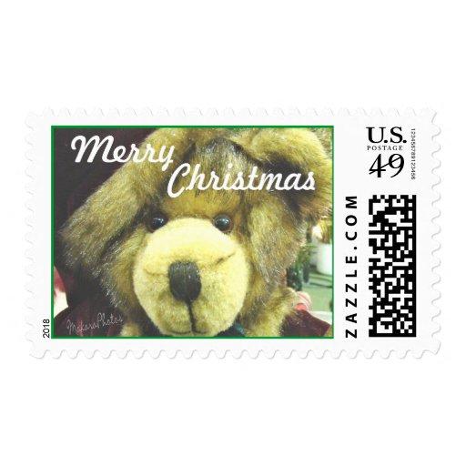 Sello-personalizar de Sr. Bear Christmas