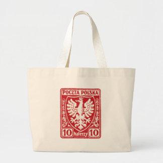 sello polaco de 1919 10h Eagle Bolsas De Mano