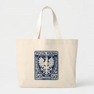 sello polaco de 1919 50h Eagle Bolsas