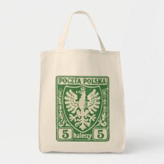 sello polaco de 1919 5h Eagle Bolsa De Mano