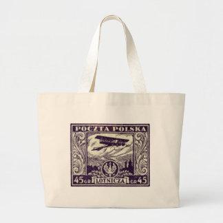 sello polaco del correo aéreo 1925 45gr bolsas