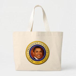 Sello presidencial bolsa lienzo