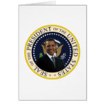 Sello presidencial de Obama Felicitaciones