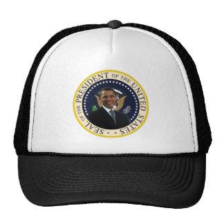 Sello presidencial de Obama Gorros Bordados
