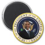 Sello presidencial de Obama Imán Redondo 5 Cm
