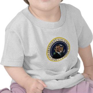 Sello presidencial de Obama Camisetas