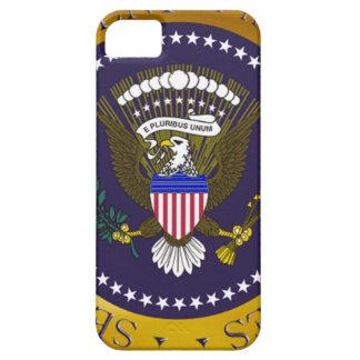 Sello presidencial del oro iPhone 5 carcasa