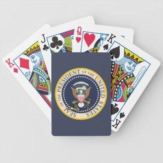 Sello presidencial: Naipes Cartas De Juego