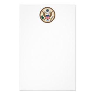 Sello presidencial oficial papelería