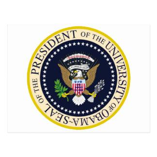 Sello presidencial oficial postales