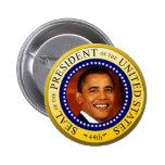 Sello presidencial pins