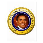 Sello presidencial postal