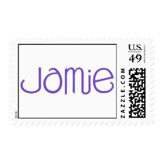 Sello púrpura de Jamie