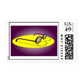 Sello púrpura del logotipo de RCG