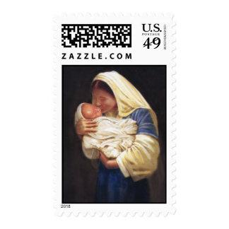 Sello religioso preferido de la tarjeta de Navidad