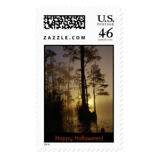 Sello reserva del nacional de Okefenokee