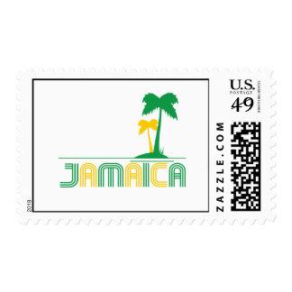 Sello retro de Jamaica