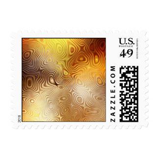 Sello retro del arte abstracto del fuego de Phoeni