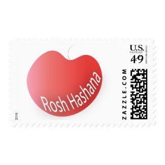 Sello rojo de Rosh Hashana Apple