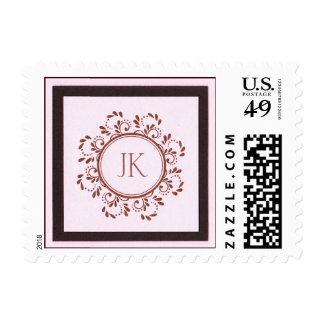 sello rosado y marrón del jk 1,39