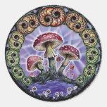 sello round sticker