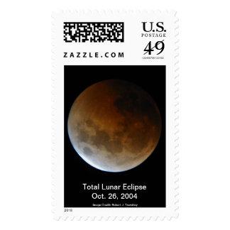Sello total del eclipse lunar