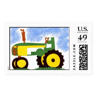 Sello verde del tractor