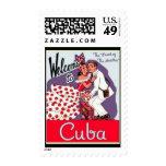 Sello-Vintage Viaje-Cuba