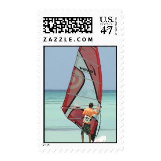 Sello Windsurfing de Aruba