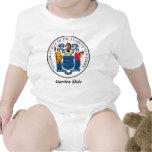 Sello y lema del estado de New Jersey Trajes De Bebé