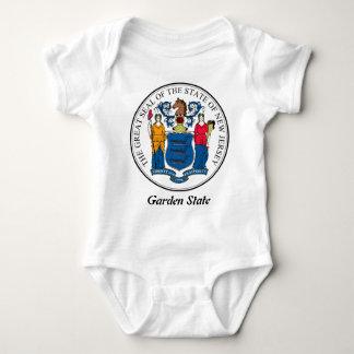 Sello y lema del estado de New Jersey Playeras