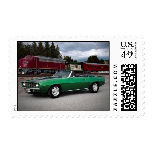 Sellos 1969 del coche del músculo de Chevy Camaro