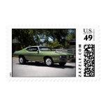 Sellos 1969 del coche del músculo de Pontiac GTO