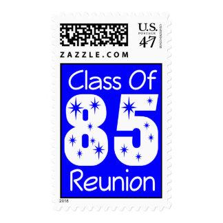 Sellos 1985 de la reunión de antiguos alumnos