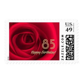 Sellos adaptables del 85o cumpleaños feliz