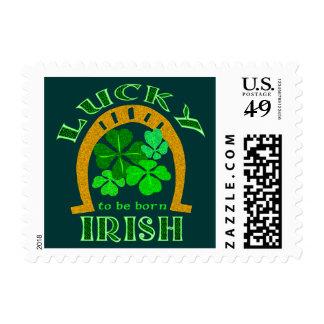Sellos afortunados del irlandés